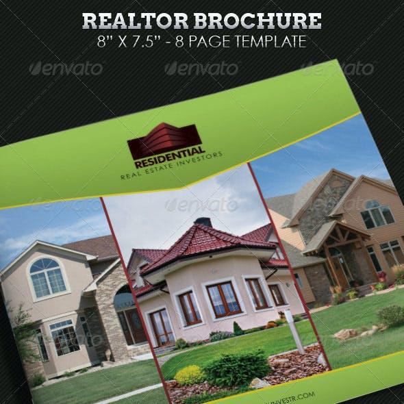 Real Estate Brochure Square Template