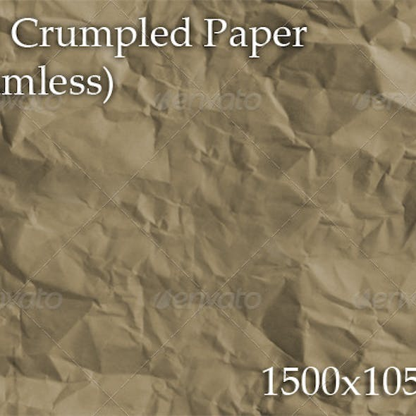 Old Crumpled Paper (seamless)