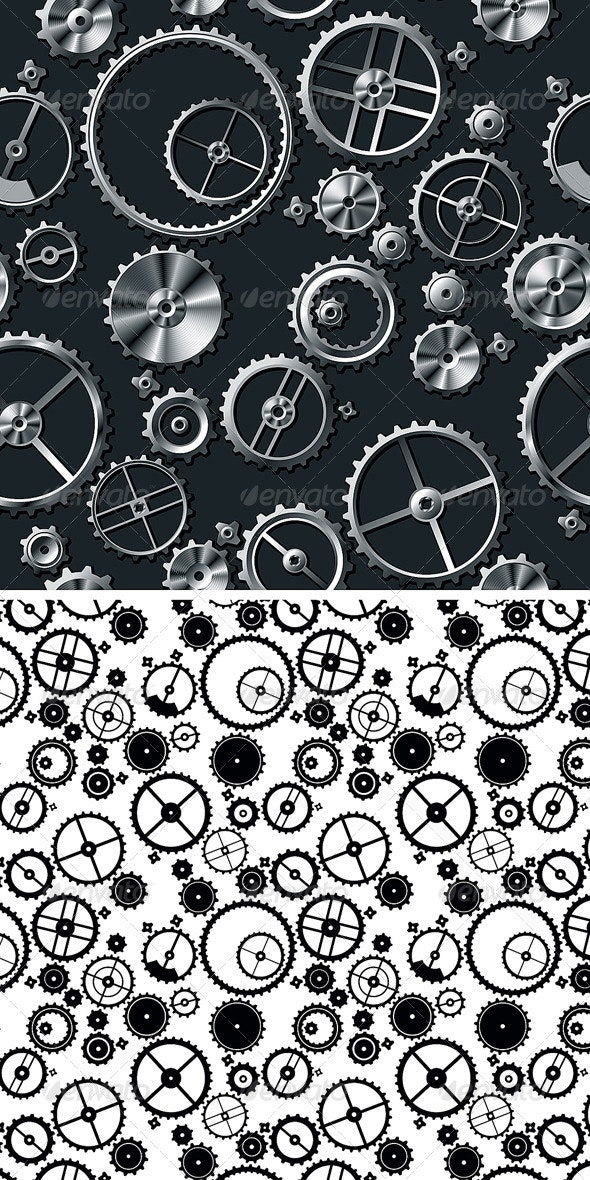 Metal Gears - Patterns Decorative
