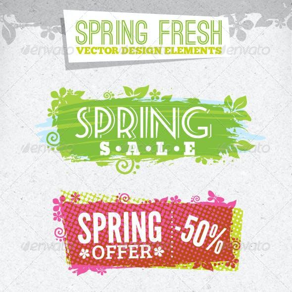 Fresh Spring Design Elements