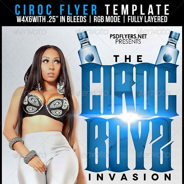 Ciroc Flyer Template