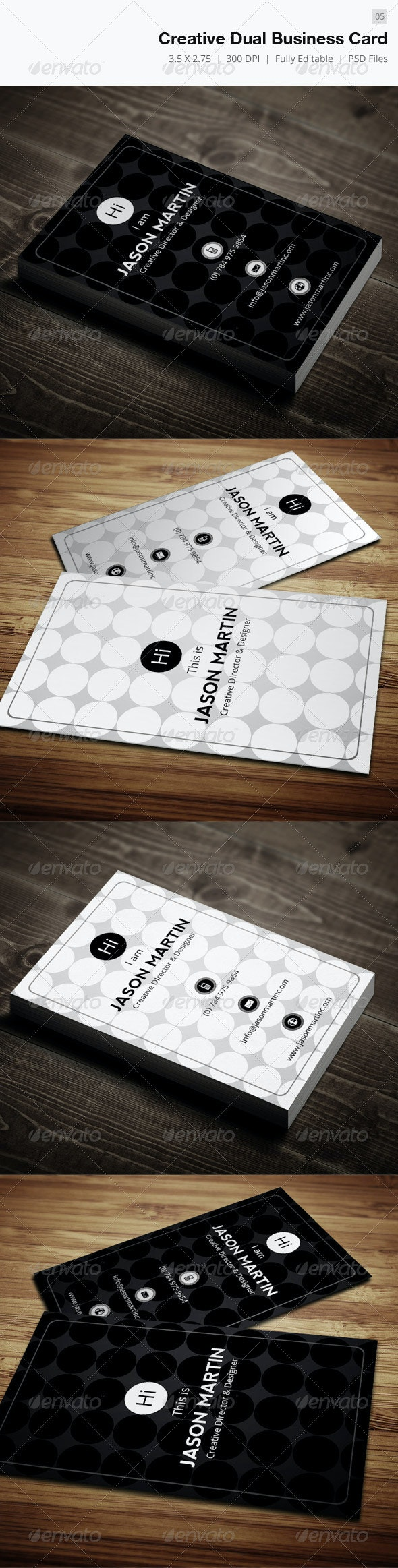 Creative Dual Business Card - 05 - Creative Business Cards
