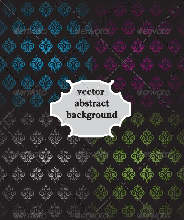 Vintage Colorful Vector Backgrounds  - Backgrounds Decorative