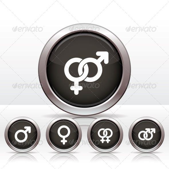 Male and  Female Symbols.