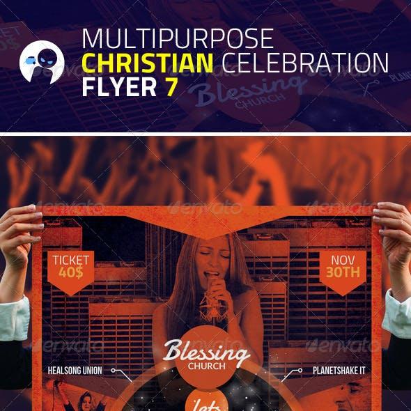 Multipurpose Christian Celebration Flyer 7