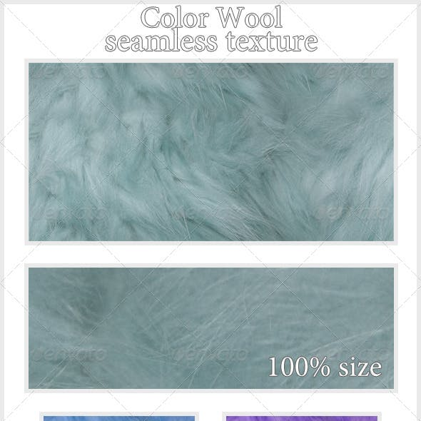 Color Wool Texture (seamless)