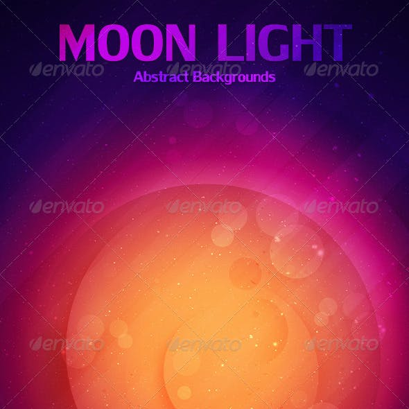 Moon Light Abstract Backgrounds