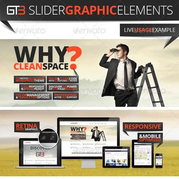 GT3 Slider Graphic Elements