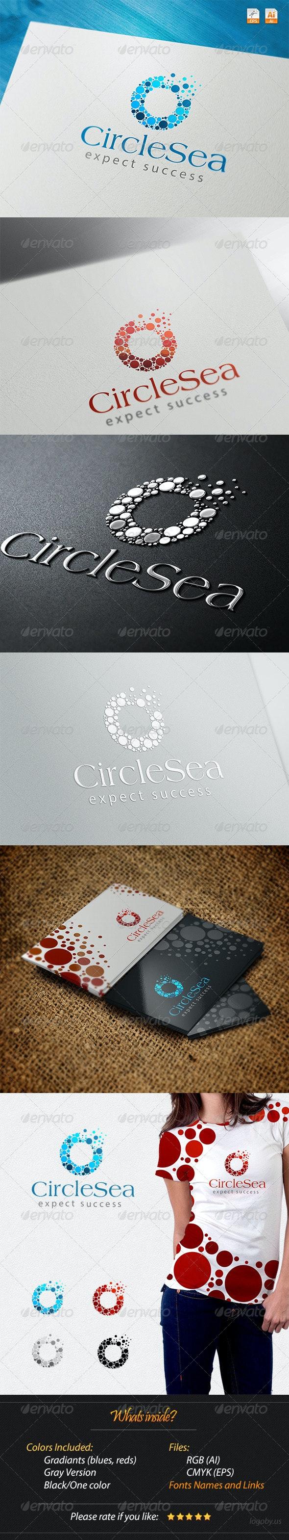 Circles Sea Expect Success Logo - Abstract Logo Templates