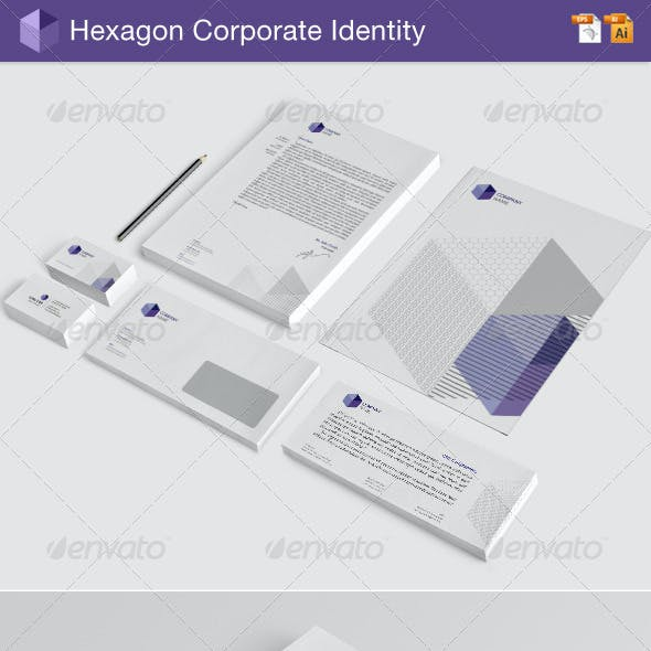 Hexagon Corporate Identity