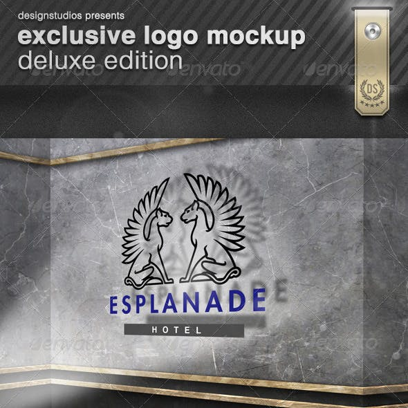 Exclusive Logo Mockup Deluxe Edition