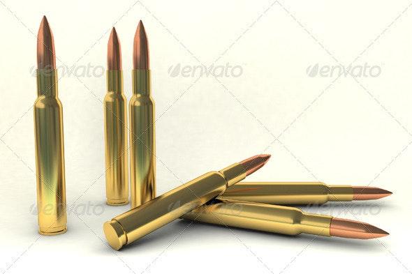 Bullets - Objects 3D Renders