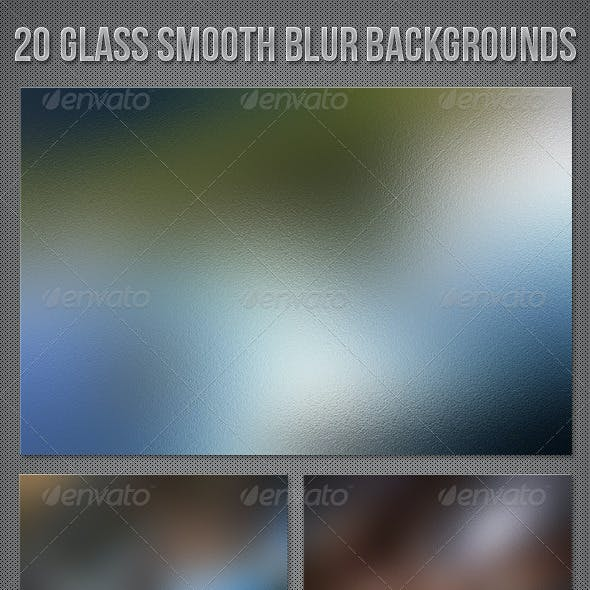 20 Glass Blur Backgrounds