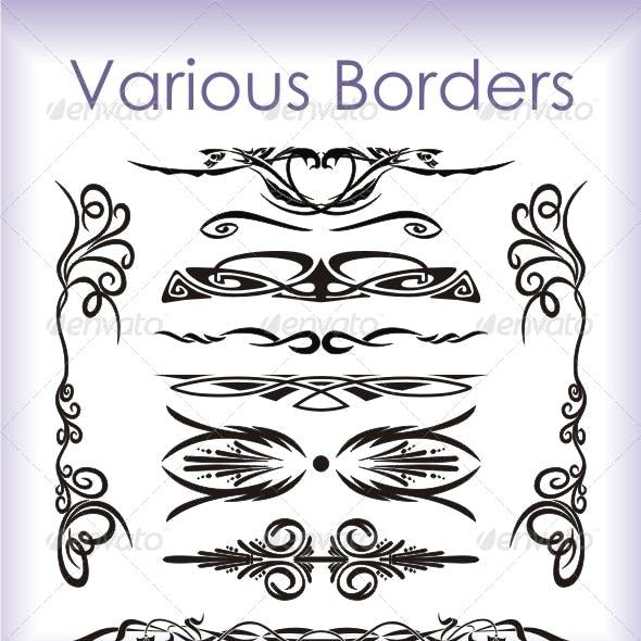 Various Borders