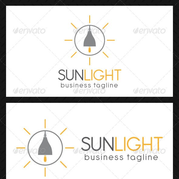 Sunlight Energy Logo Template