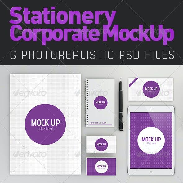 Stationery Branding Mock-Up