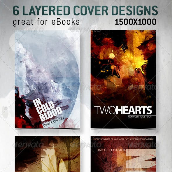 6 eBook Covers for Web