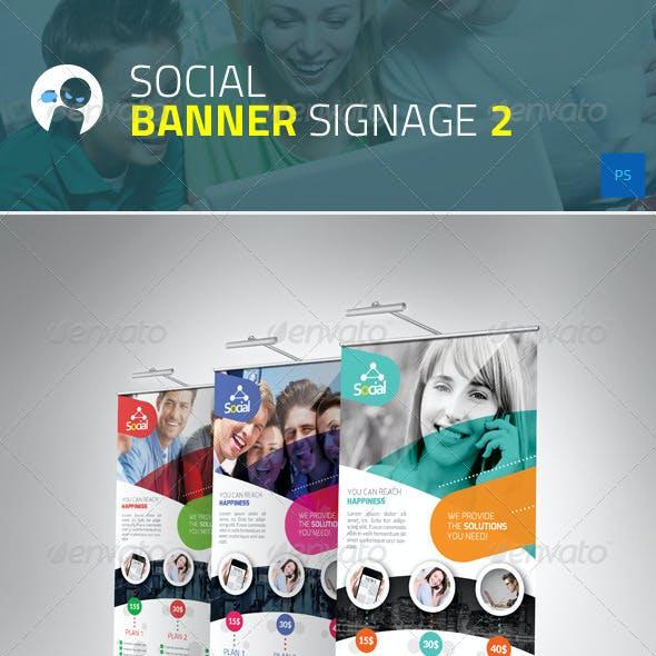 Social - Banner Signage 2