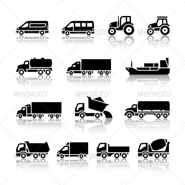 16 Transport Icons