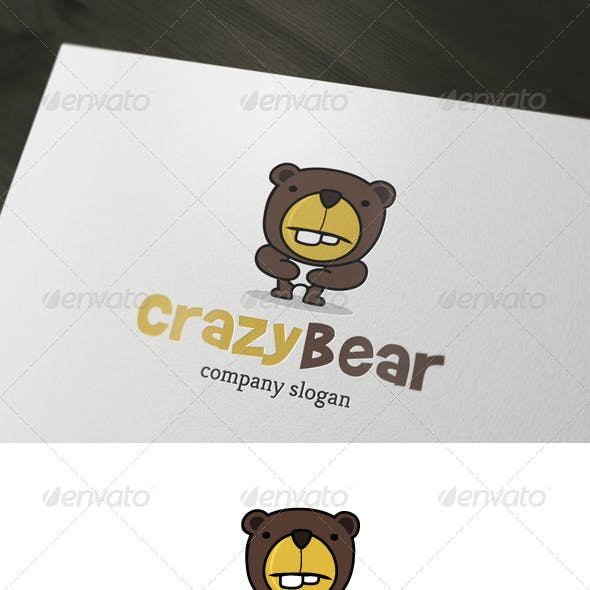Crazy Bear Logo