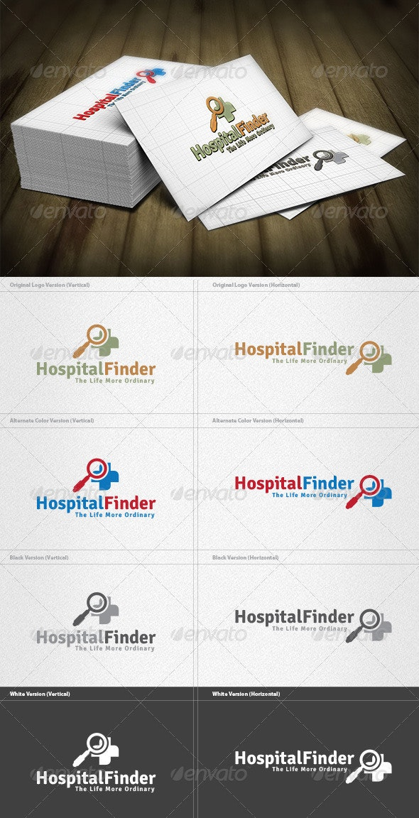 Hospital Finder Logo - Symbols Logo Templates