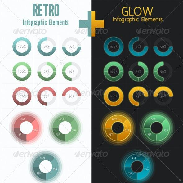 Retro+Glow Infographic