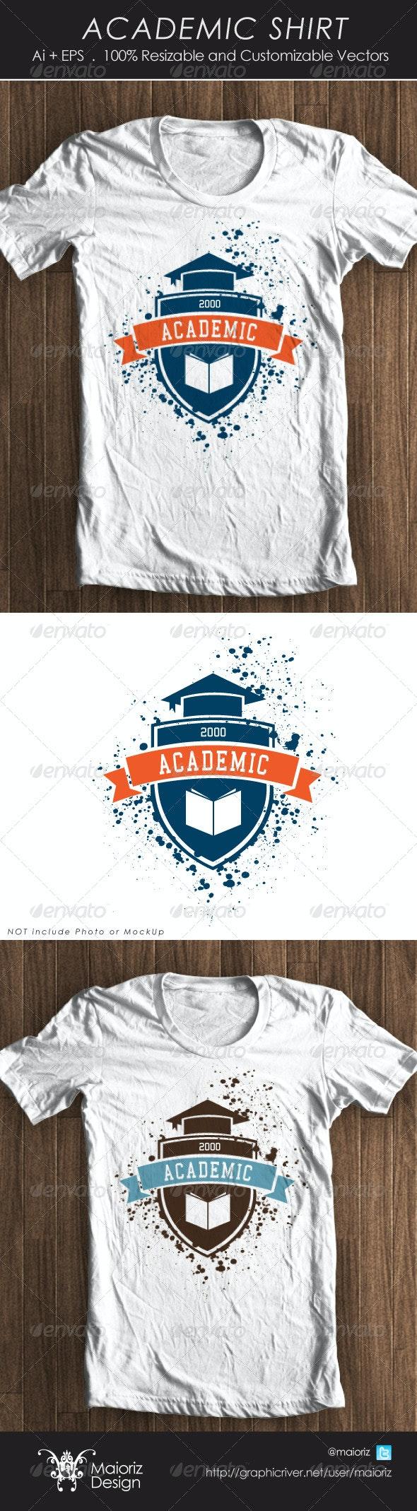 Academic Tshirt - T-Shirts
