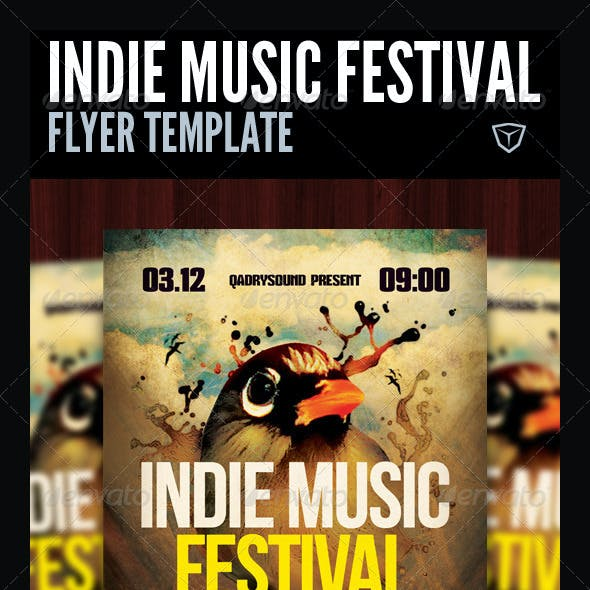 Indie Music Festival Flyer/Poster