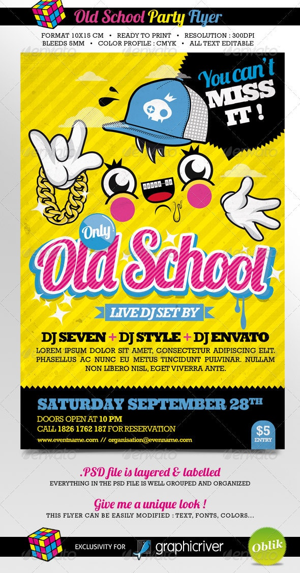 Old School Party - Clubs & Parties Events
