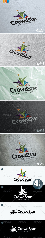 CrowdStar - Humans Logo Templates