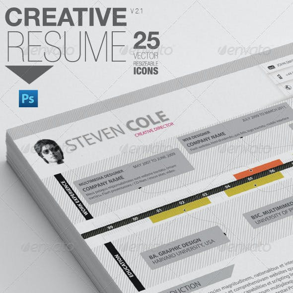 Professional Resume | For Designers