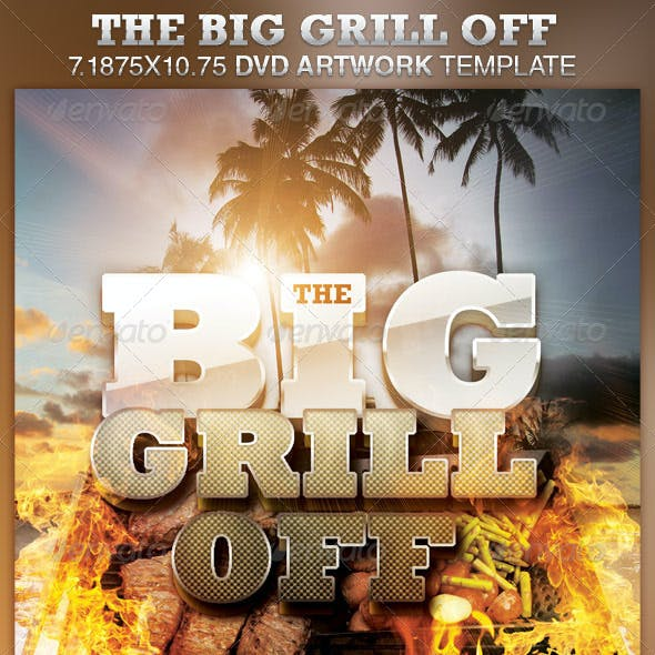 The Big Grill Off DVD Artwork Template
