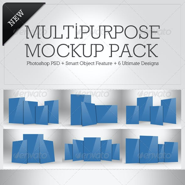 Multipurpose Mockup Pack 3