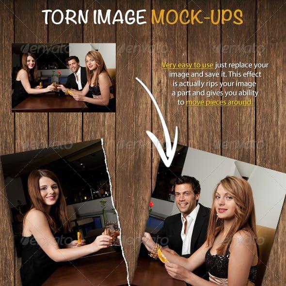 Torn Image Mock-ups 1.0