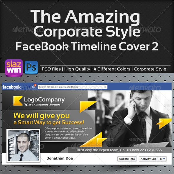 The Amazing Corporate FB Timeline 02