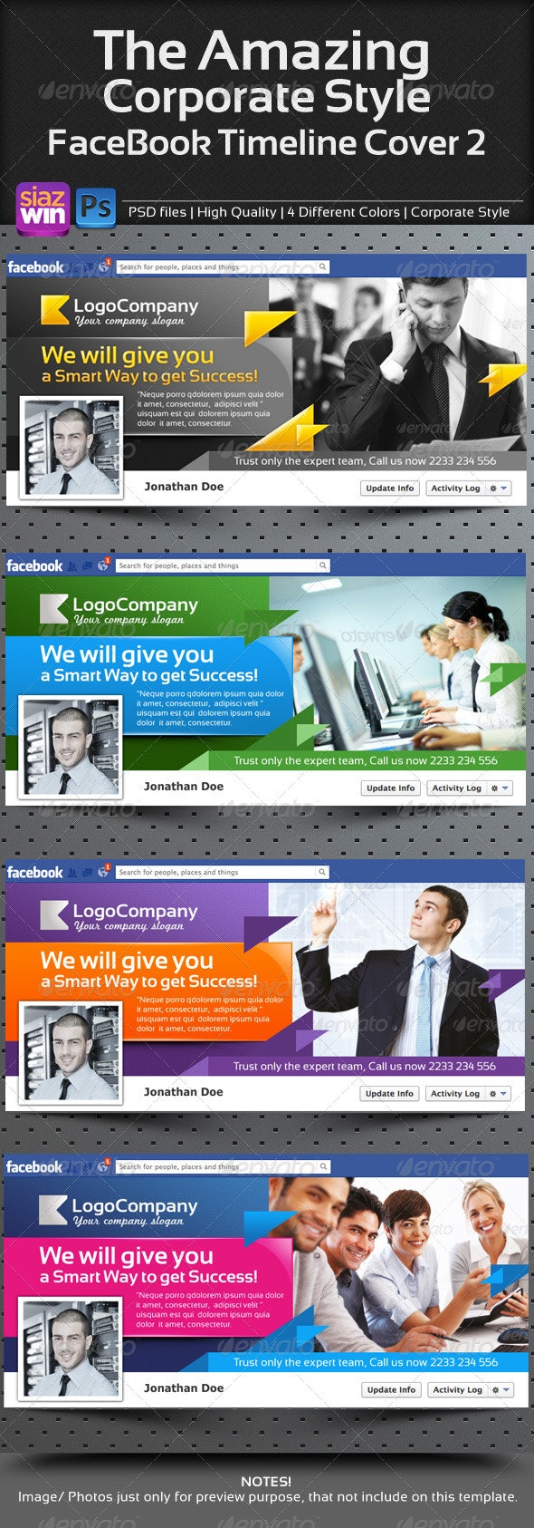 The Amazing Corporate FB Timeline 02 - Facebook Timeline Covers Social Media