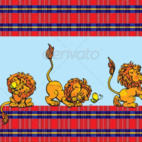 Pattern for Children - Lions