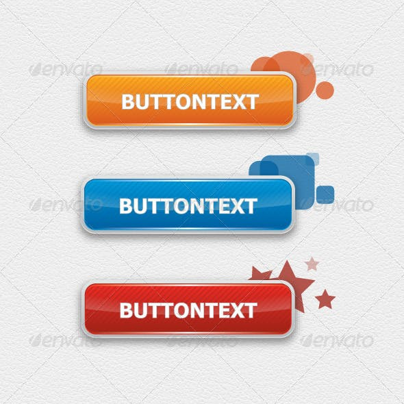 Stylised Web 2 Buttons