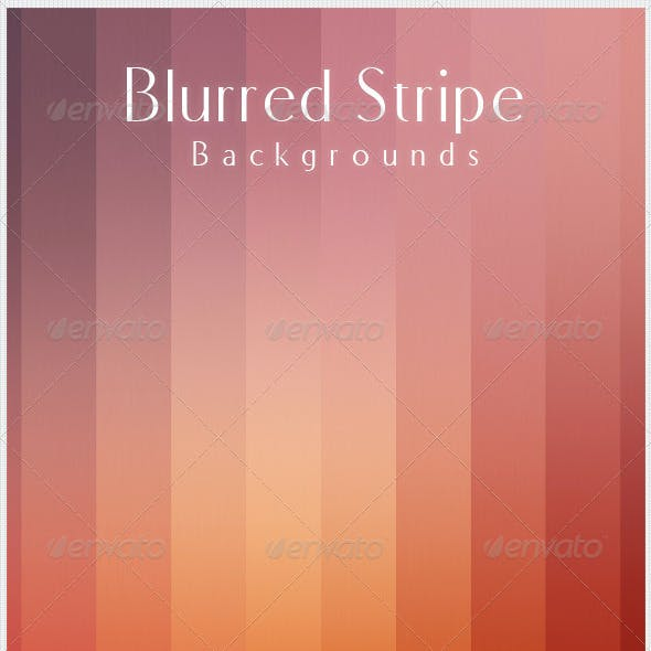 Blurred Stripe Backgrounds