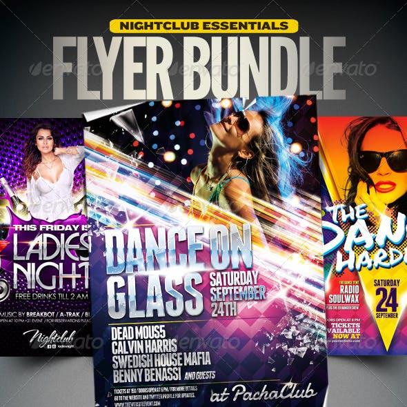 Nightclub Essentials Flyer Bundle | 001