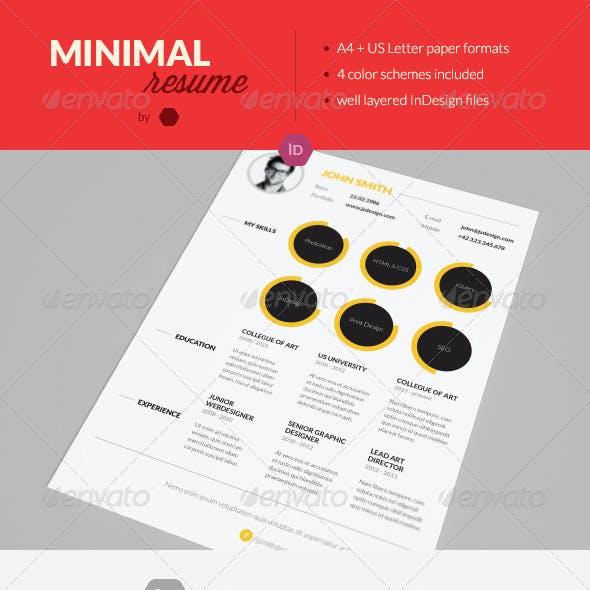Minimal Resume / Simple CV