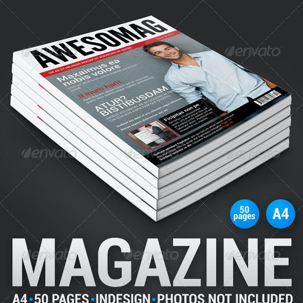 AwesoMag 50 pages magazine