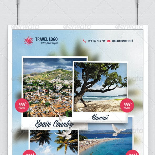 Travel Agent Flyer Travel Holiday Last minute