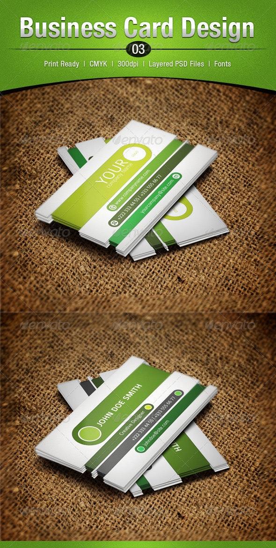 Business Card Design 3 - Corporate Business Cards
