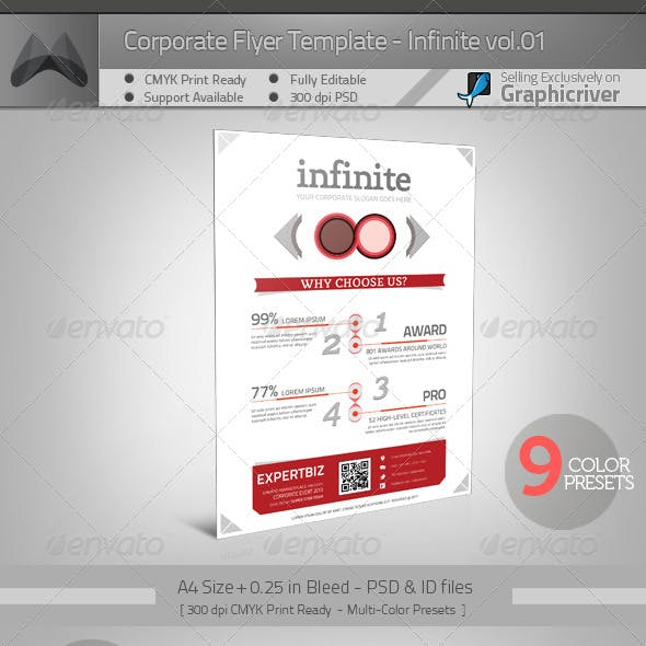 Multipurpose Corporate Flyer - 02 Infinite