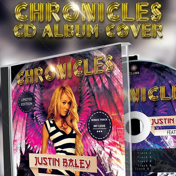 Chronicles CD Album Cover Artwork