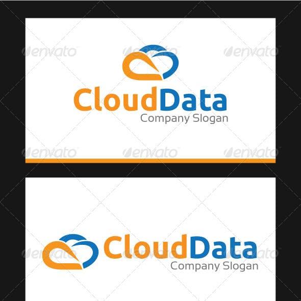 Cloud Data Logo Template