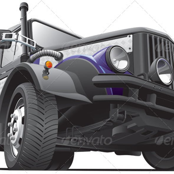 Dieselpunk Jeep