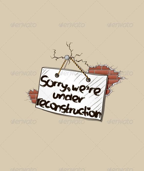 Under Reconstruction - Web Elements Vectors