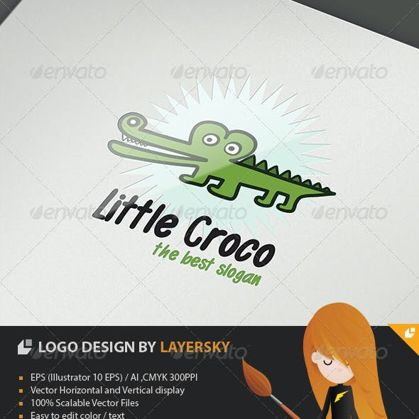 Little Croco Logo